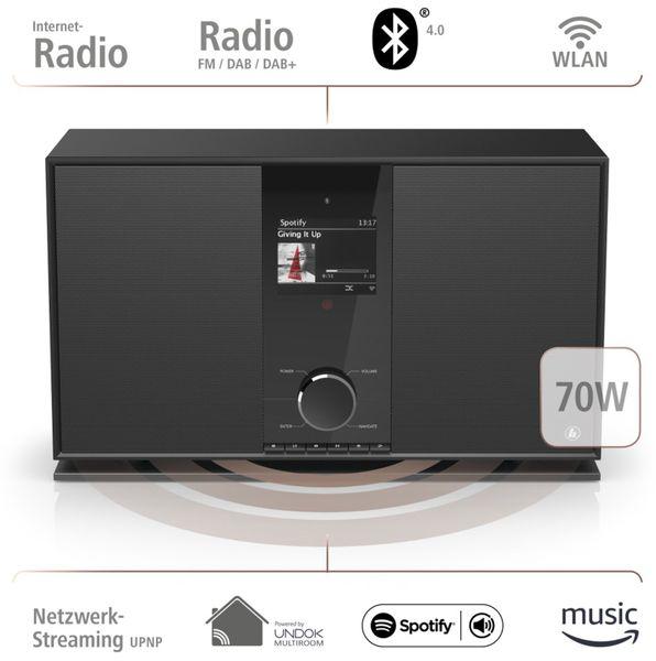 DAB+ Radio HAMA DIR3605MSBT, schwarz - Produktbild 13