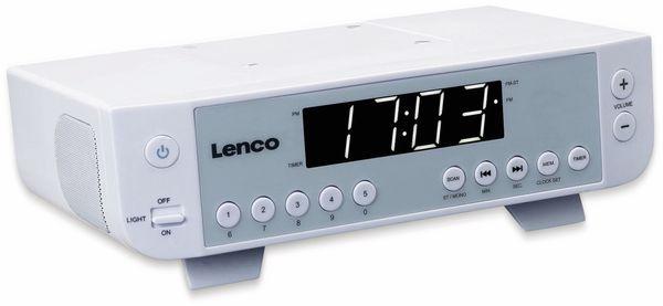 Küchenunterbauradio LENCO KCR-11, UKW, weiß - Produktbild 2