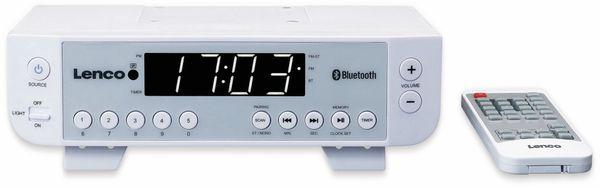 Küchenunterbauradio LENCO KCR-100, weiß, UKW, Bluetooth