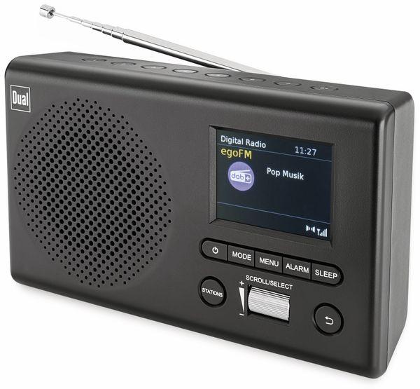 DAB Radio DUAL MCR 4, schwarz