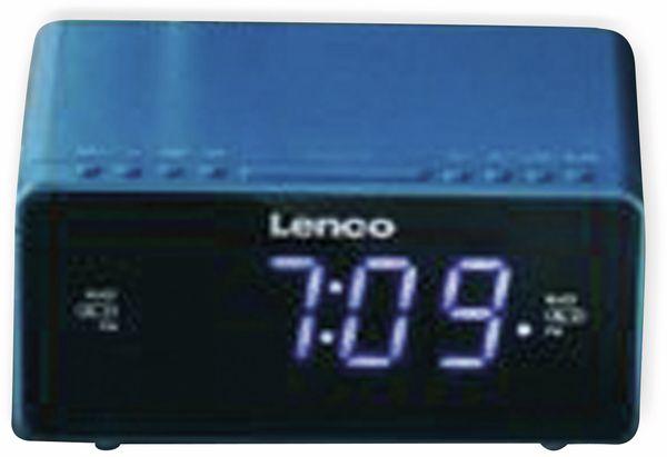 Radiowecker LENCO CR-520, blau