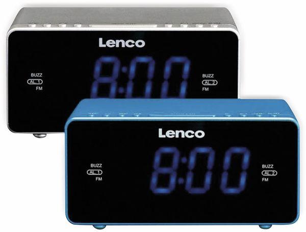 Radiowecker LENCO CR-520, silber - Produktbild 2