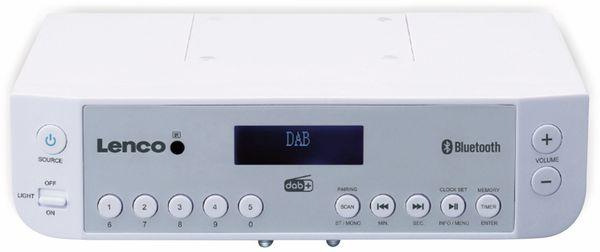 Küchenunterbauradio LENCO KCR-200WH, DAB+, Bluetooth, weiss