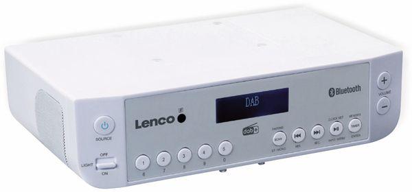 Küchenunterbauradio LENCO KCR-200WH, DAB+, Bluetooth, weiss - Produktbild 2