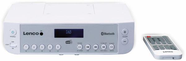 Küchenunterbauradio LENCO KCR-200WH, DAB+, Bluetooth, weiss - Produktbild 3
