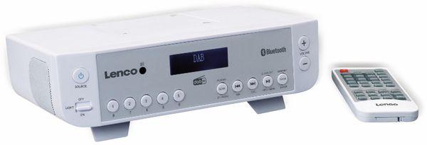 Küchenunterbauradio LENCO KCR-200WH, DAB+, Bluetooth, weiss - Produktbild 5