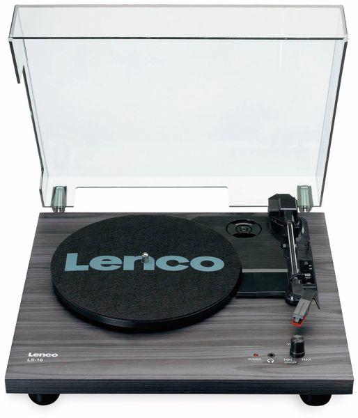 Plattenspieler LENCO LS-10, schwarz, mit integrierten Lautsprechern - Produktbild 2