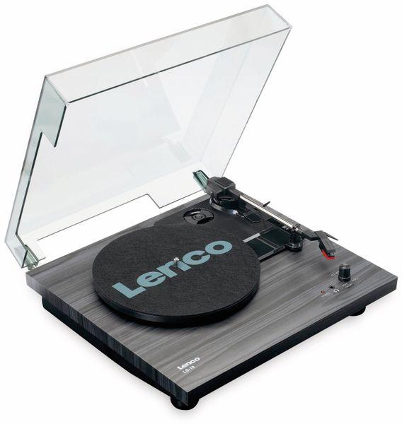 Plattenspieler LENCO LS-10, schwarz, mit integrierten Lautsprechern - Produktbild 3