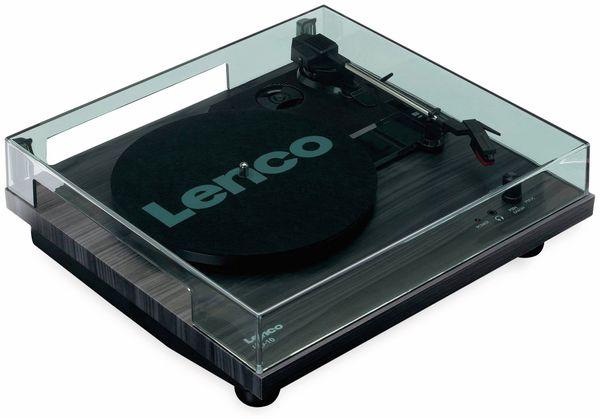 Plattenspieler LENCO LS-10, schwarz, mit integrierten Lautsprechern - Produktbild 4