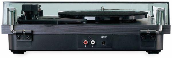 Plattenspieler LENCO LS-10, schwarz, mit integrierten Lautsprechern - Produktbild 5