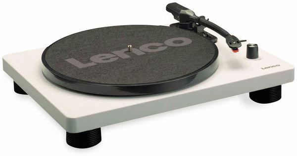 Plattenspieler LENCO LS-50, USB, grau, mit integrierten Lautsprechern - Produktbild 2