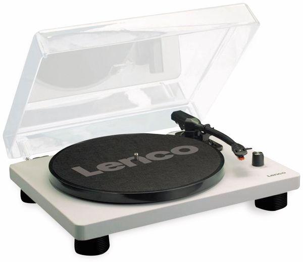 Plattenspieler LENCO LS-50, USB, grau, mit integrierten Lautsprechern - Produktbild 5