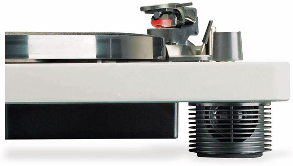 Plattenspieler LENCO LS-50, USB, grau, mit integrierten Lautsprechern - Produktbild 7