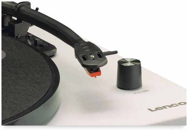 Plattenspieler LENCO LS-50, USB, grau, mit integrierten Lautsprechern - Produktbild 8