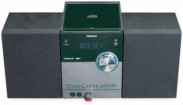 Stereoanlage LENCO MC-150, schwarz, DAB+, Bluetooth, CD, USB - Produktbild 4