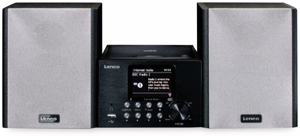 Stereoanlage LENCO MC-250, schwarz, DAB+, Bluetooth, CD/MP3-Player
