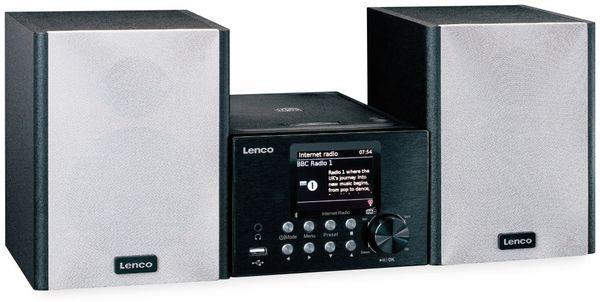 Stereoanlage LENCO MC-250, schwarz, DAB+, Bluetooth, CD/MP3-Player - Produktbild 3