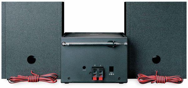 Stereoanlage LENCO MC-250, schwarz, DAB+, Bluetooth, CD/MP3-Player - Produktbild 5