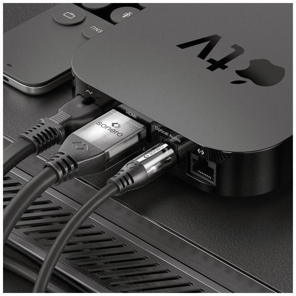 Lichtleiter-Kabel SONERO, 7,50 m, schwarz - Produktbild 3