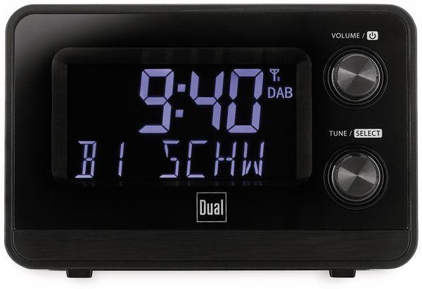 DAB+/UKW Radiowecker DUAL DAB CR 10, mit USB Charging, schwarz