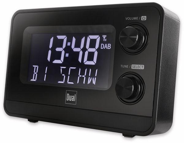 DAB+/UKW Radiowecker DUAL DAB CR 10, mit USB Charging, schwarz - Produktbild 2
