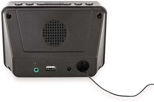 DAB+/UKW Radiowecker DUAL DAB CR 10, mit USB Charging, schwarz - Produktbild 4