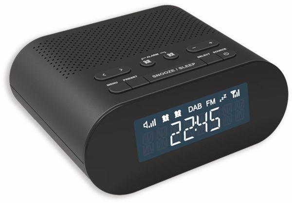 DAB+/FM Radiowecker DENVER CRD-505, schwarz