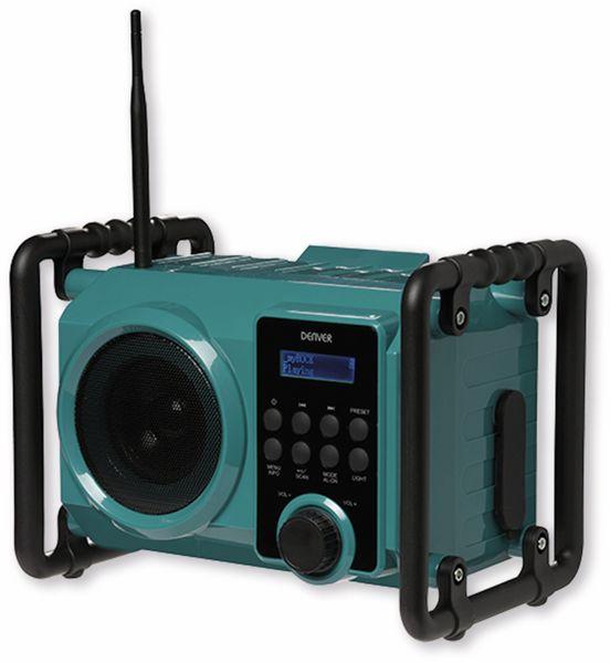DAB+/FM Akku-Radio DENVER WRD-50, 5 W