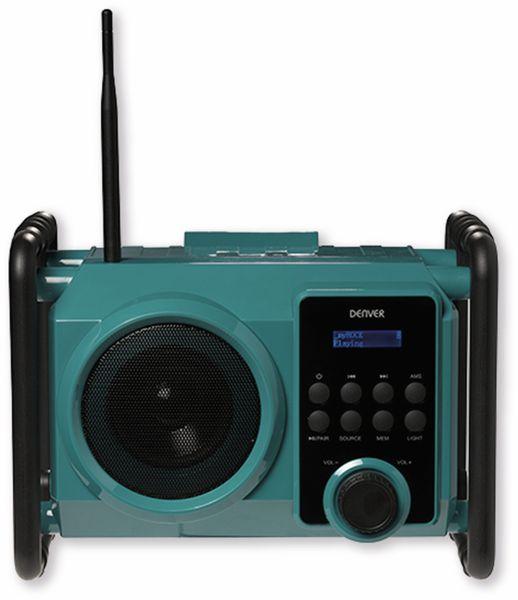 DAB+/FM Akku-Radio DENVER WRD-50, 5 W - Produktbild 3