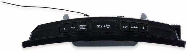 Radiowecker ROXX CR 302, Jumbodisplay - Produktbild 2