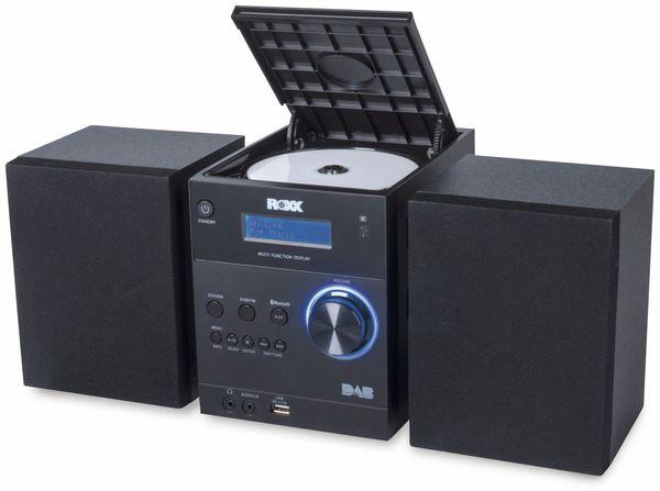Stereoanlage ROXX MC 401, schwarz, CD, DAB+, Bluetooth - Produktbild 2