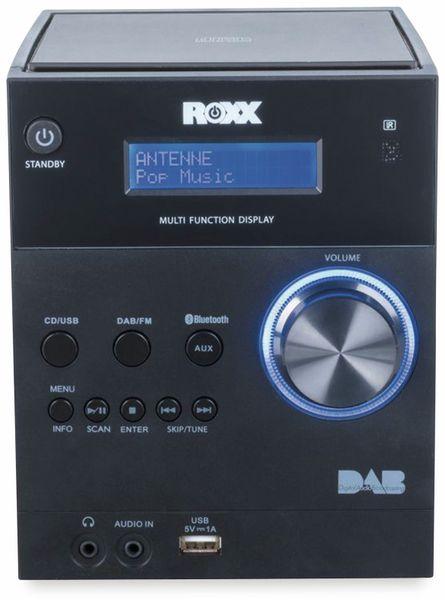 Stereoanlage ROXX MC 401, schwarz, CD, DAB+, Bluetooth - Produktbild 4