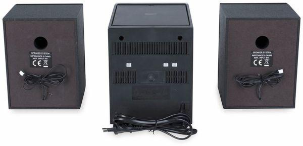 Stereoanlage ROXX MC 401, schwarz, CD, DAB+, Bluetooth - Produktbild 5