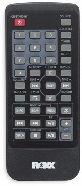 Stereoanlage ROXX MC 401, schwarz, CD, DAB+, Bluetooth - Produktbild 6