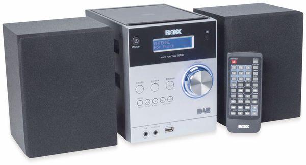 Stereoanlage ROXX MC 401, schwarz/silber, CD, DAB+, Bluetooth