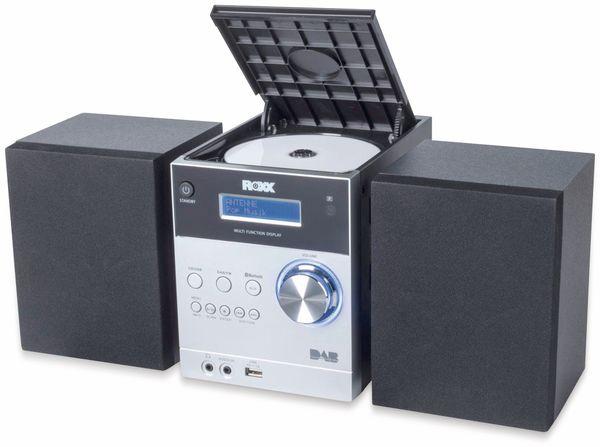 Stereoanlage ROXX MC 401, schwarz/silber, CD, DAB+, Bluetooth - Produktbild 3