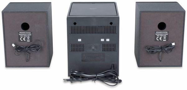 Stereoanlage ROXX MC 401, schwarz/silber, CD, DAB+, Bluetooth - Produktbild 4