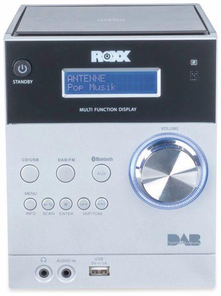 Stereoanlage ROXX MC 401, schwarz/silber, CD, DAB+, Bluetooth - Produktbild 5
