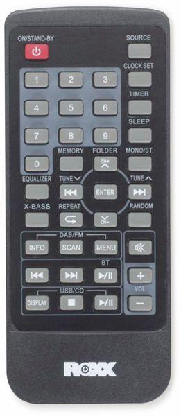 Stereoanlage ROXX MC 401, schwarz/silber, CD, DAB+, Bluetooth - Produktbild 6