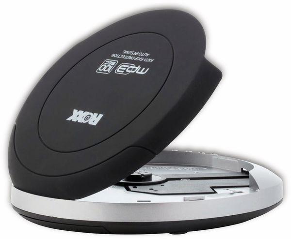 Portabler CD-Player ROXX PCD 501, schwarz - Produktbild 3