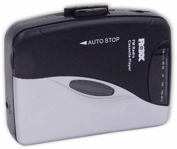 Kassettendeck ROXX PCP 300, schwarz/silber - Produktbild 2
