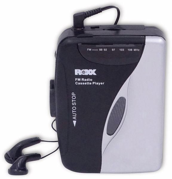 Kassettendeck ROXX PCP 300, schwarz/silber - Produktbild 3