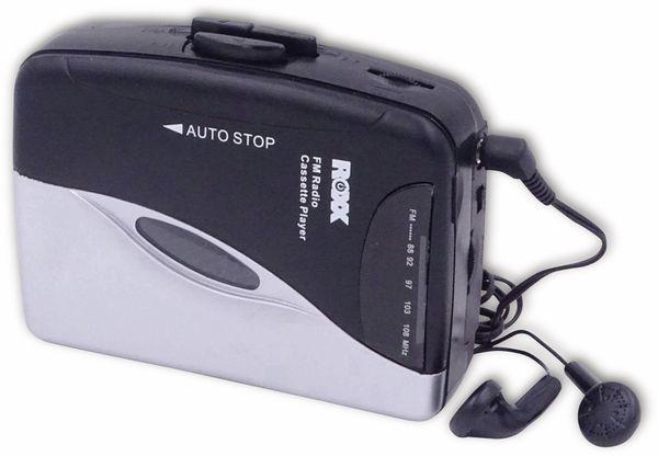 Kassettendeck ROXX PCP 300, schwarz/silber - Produktbild 5