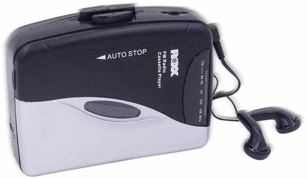 Kassettendeck ROXX PCP 300, schwarz/silber - Produktbild 6