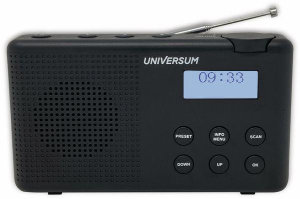DAB+ Radio UNIVERSUM DR 200-20, Akku, schwarz