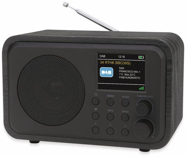 DAB+ Radio UNIVERSUM DR 300-20, Akku, Bluetooth, schwarz