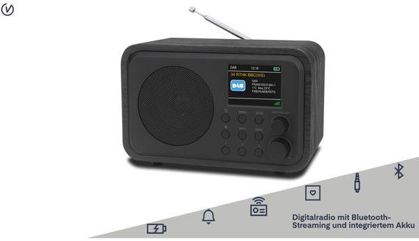 DAB+ Radio UNIVERSUM DR 300-20, Akku, Bluetooth, schwarz - Produktbild 2