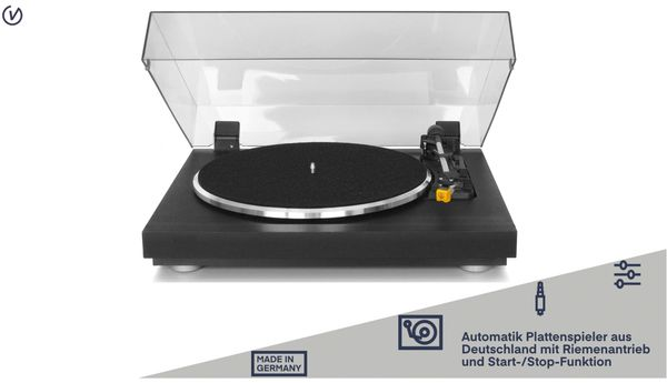 Plattenspieler UNIVERSUM TT 500-20, schwarz - Produktbild 2