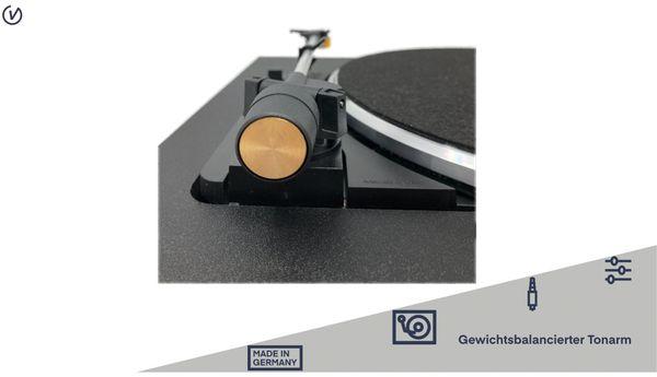 Plattenspieler UNIVERSUM TT 500-20, schwarz - Produktbild 4