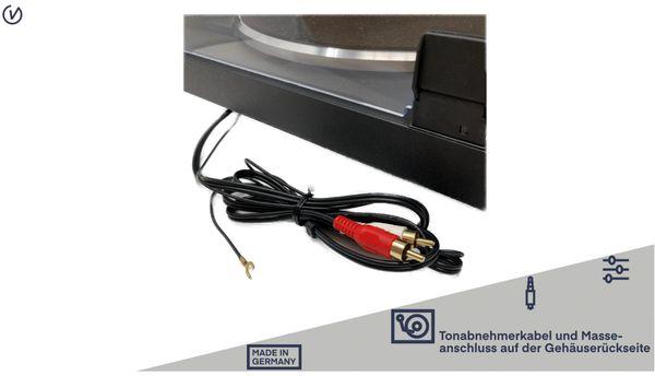 Plattenspieler UNIVERSUM TT 500-20, schwarz - Produktbild 5